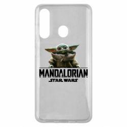 Чехол для Samsung M40 Star Wars Yoda beby