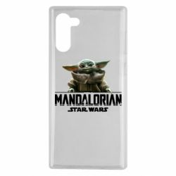 Чехол для Samsung Note 10 Star Wars Yoda beby