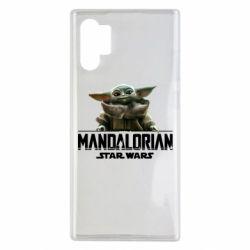 Чехол для Samsung Note 10 Plus Star Wars Yoda beby