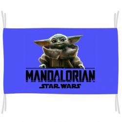 Флаг Star Wars Yoda beby