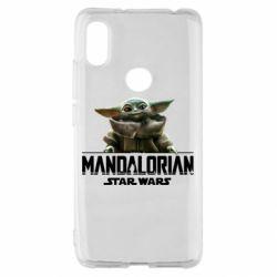 Чехол для Xiaomi Redmi S2 Star Wars Yoda beby