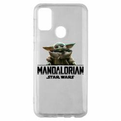 Чехол для Samsung M30s Star Wars Yoda beby