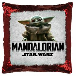 Подушка-хамелеон Star Wars Yoda beby