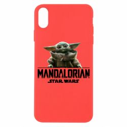 Чехол для iPhone X/Xs Star Wars Yoda beby
