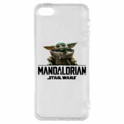 Чехол для iPhone5/5S/SE Star Wars Yoda beby