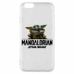 Чехол для iPhone 6/6S Star Wars Yoda beby