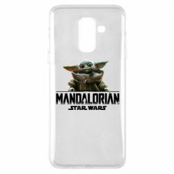 Чехол для Samsung A6+ 2018 Star Wars Yoda beby