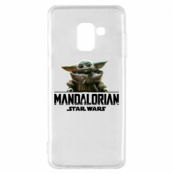 Чехол для Samsung A8 2018 Star Wars Yoda beby