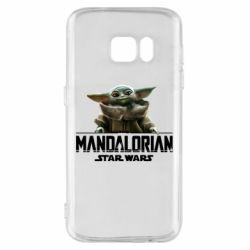 Чехол для Samsung S7 Star Wars Yoda beby