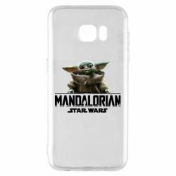 Чехол для Samsung S7 EDGE Star Wars Yoda beby
