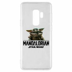 Чехол для Samsung S9+ Star Wars Yoda beby