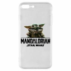 Чехол для iPhone 8 Plus Star Wars Yoda beby