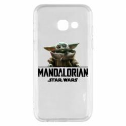 Чехол для Samsung A3 2017 Star Wars Yoda beby