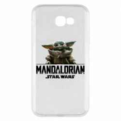 Чехол для Samsung A7 2017 Star Wars Yoda beby