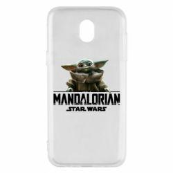 Чехол для Samsung J5 2017 Star Wars Yoda beby