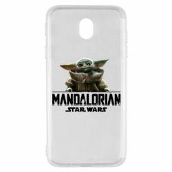 Чехол для Samsung J7 2017 Star Wars Yoda beby