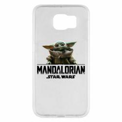 Чехол для Samsung S6 Star Wars Yoda beby