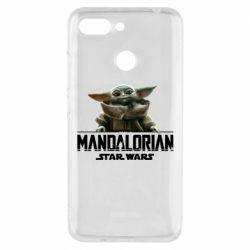 Чехол для Xiaomi Redmi 6 Star Wars Yoda beby