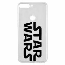 Чехол для Huawei Y7 Prime 2018 STAR WARS - FatLine