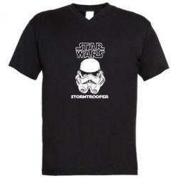 Чоловічі футболки з V-подібним вирізом STAR WARS - FatLine