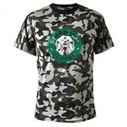 Камуфляжная футболка Starbucks Logo