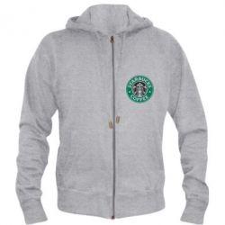 Мужская толстовка на молнии Starbucks Logo