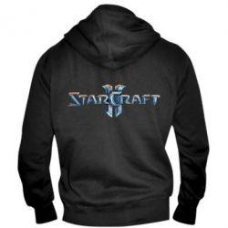 Мужская толстовка на молнии StarCraft 2 - FatLine