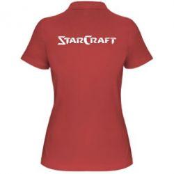 Женская футболка поло StarCraft - FatLine