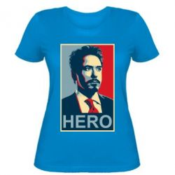 Женская футболка Stark Hero