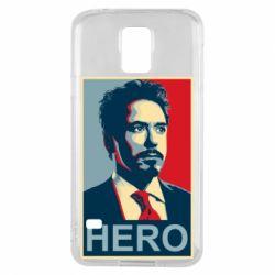 Чохол для Samsung S5 Stark Hero