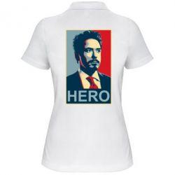 Женская футболка поло Stark Hero - FatLine