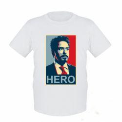 Детская футболка Stark Hero - FatLine