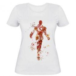 Женская футболка Старк - FatLine