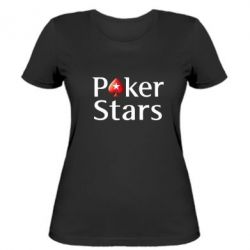 Жіноча футболка Stars of Poker - FatLine