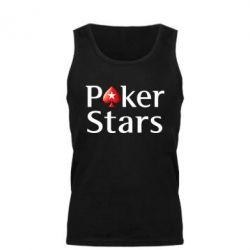 Мужская майка Stars of Poker - FatLine