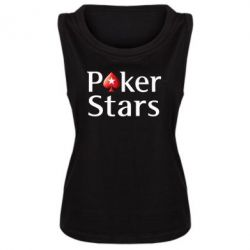 Майка жіноча Stars of Poker - FatLine