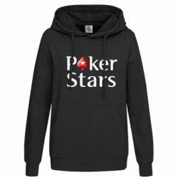 Женская толстовка Stars of Poker