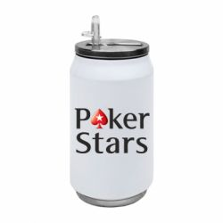 Термобанка 350ml Stars of Poker