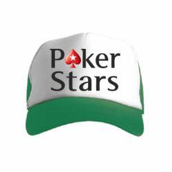 Дитяча кепка-тракер Stars of Poker