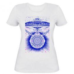 Женская футболка Startrek graphic
