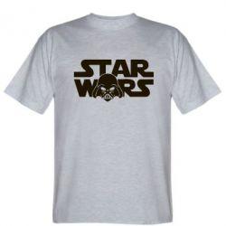 Мужская футболка StarWars Logo - FatLine