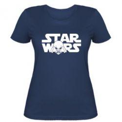 Женская футболка StarWars Logo - FatLine