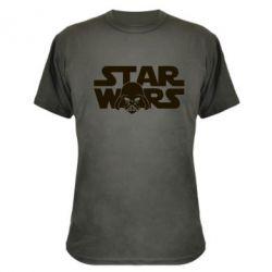 Камуфляжная футболка StarWars Logo - FatLine