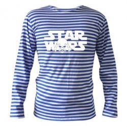 Тельняшка с длинным рукавом StarWars Logo - FatLine