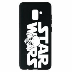 Чохол для Samsung A8+ 2018 StarWars Logo