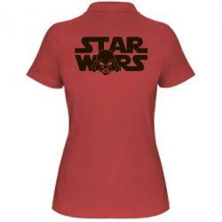 Женская футболка поло StarWars Logo - FatLine
