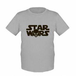 Детская футболка StarWars Logo - FatLine
