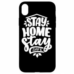Чохол для iPhone XR Stay home stay safe