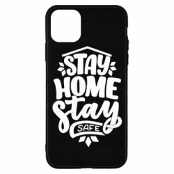 Чохол для iPhone 11 Pro Stay home stay safe