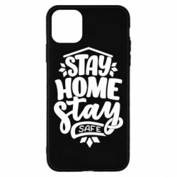 Чохол для iPhone 11 Pro Max Stay home stay safe
